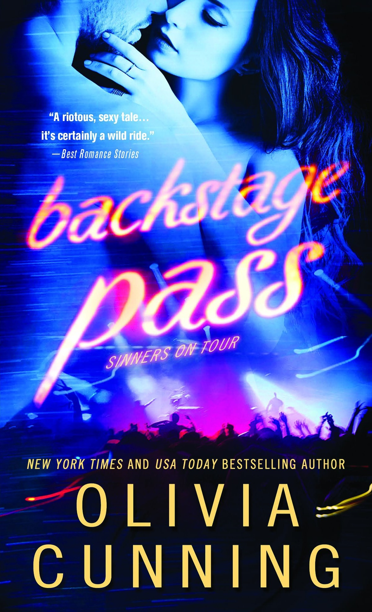 Rockr Romance Novels, Backstage Pass by Olivia Cunning, books