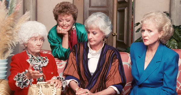 tv, The Golden Girls, beatrice arthur, betty white, Estelle Getty, Rue McClanahan, 80s