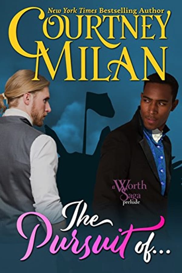 Self-Published Romance Novel, cover of In Pursuit Of... by Courney Milan, books