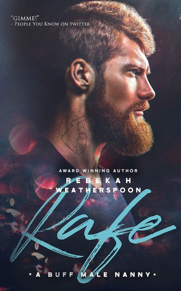 Self-Published Romance Novels, cover of Rafe by Rebekah Weatherspoon, books