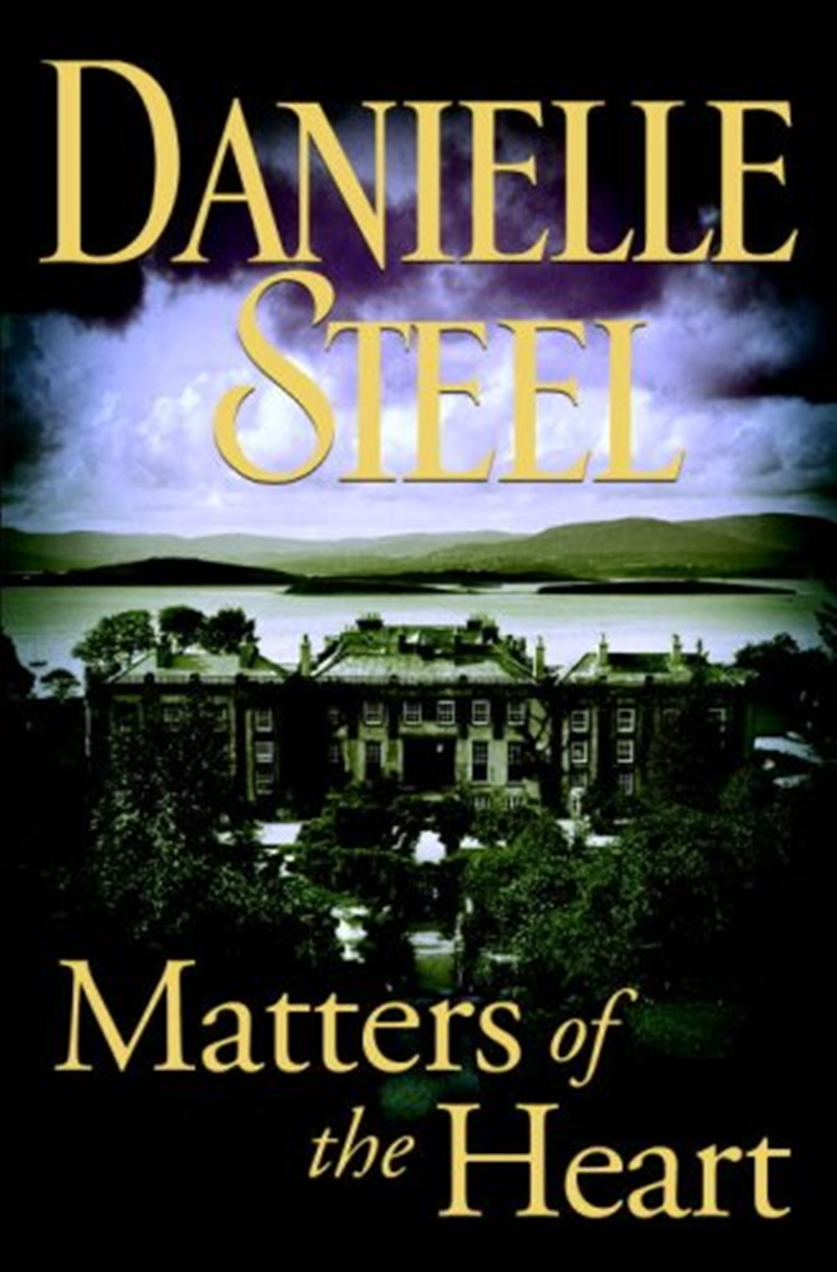 Danielle Steel Books, cover of Matters of the Heart by Danielle Heart, books
