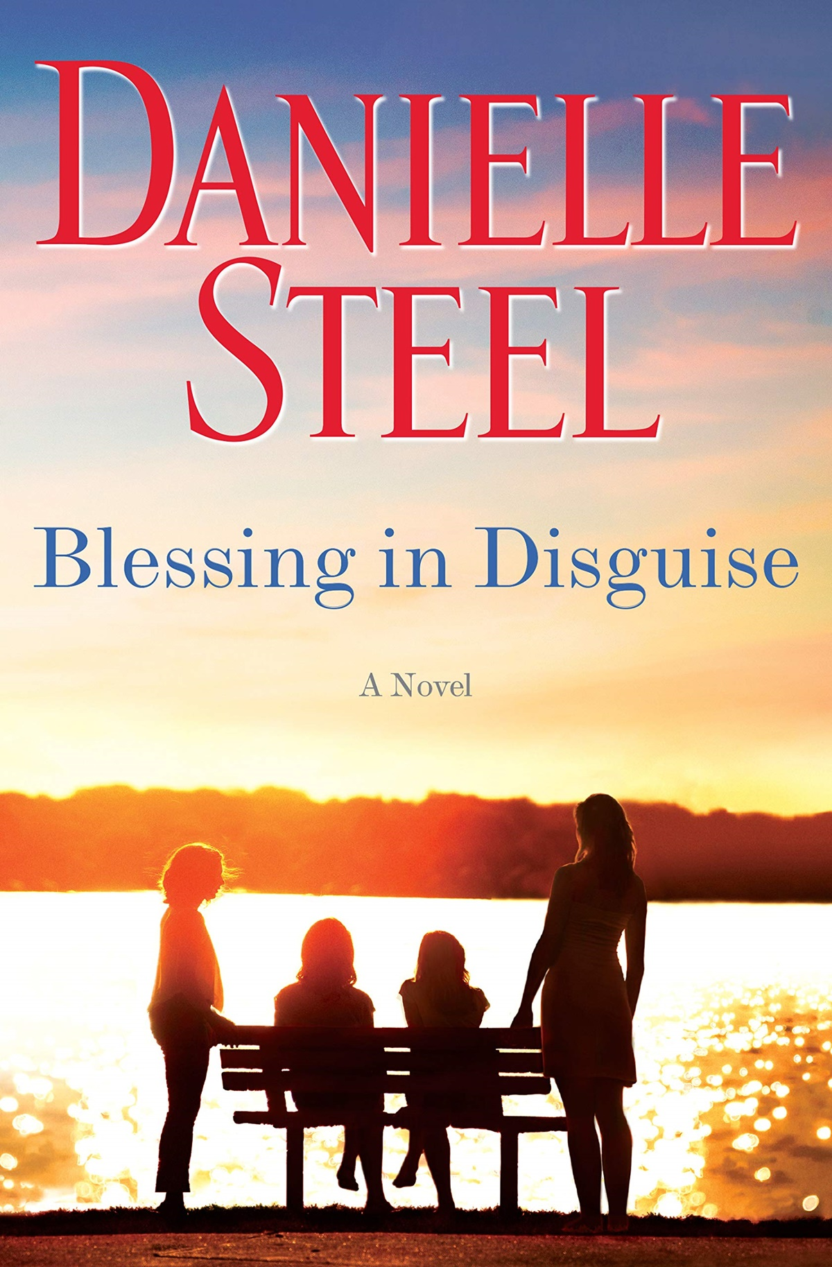 Danielle Steel Books, cover of Blessings in Disguise by Danielle Steel, books