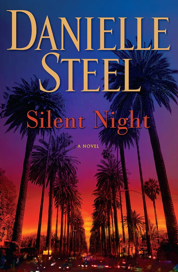 Danielle Steel Books, cover of Silent Night by Danielle Steel, books