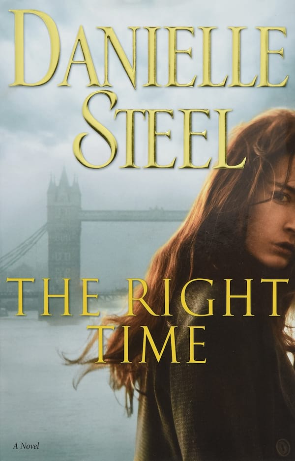 Danielle Steel Romance Books, cover of The Right Time by Danielle Steel, books