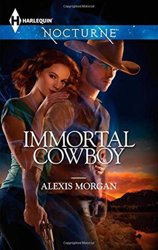 Haunting Romance Novels, cover of Immortal Cowboy by Alexis Morgan, books