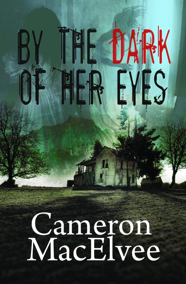 Haunting Romance Novels, cover of The Dark of Her Eyes by Cameron MacElvee, books