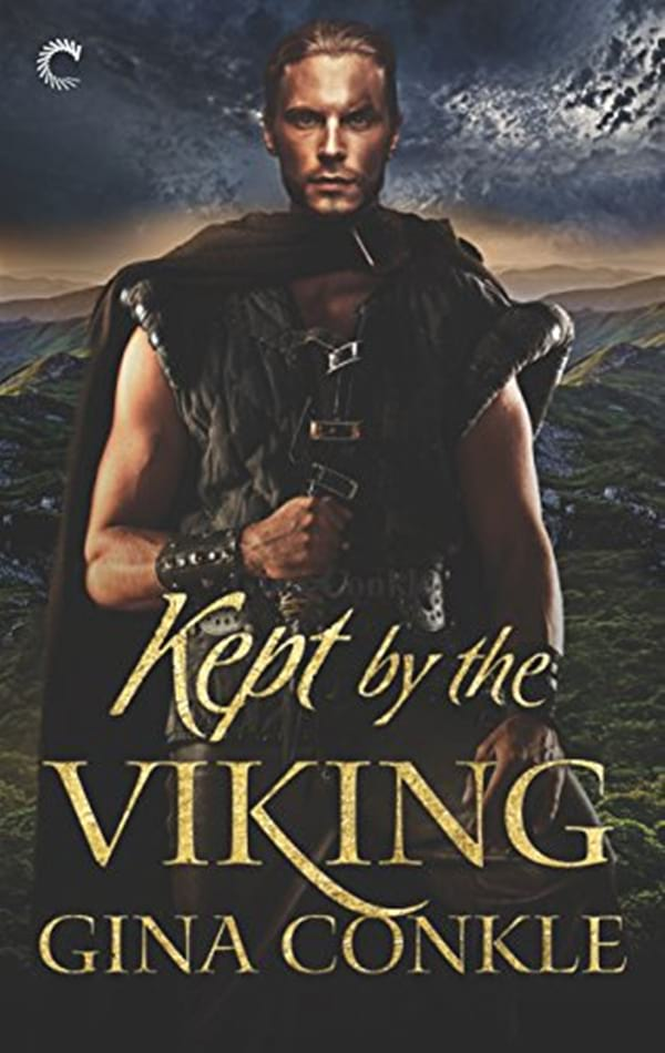 Viking Romance Novels, cover of Kept by the Viking by Gina Conkle, books