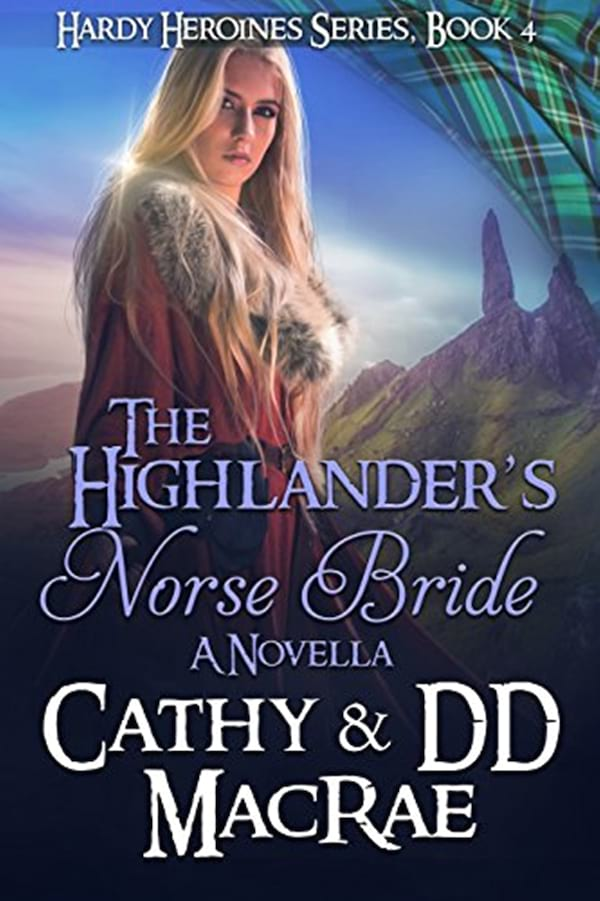 Viking Romance Novels, cover of The Highlander's Viking Bride by Cathy and D.D. MacRae, books