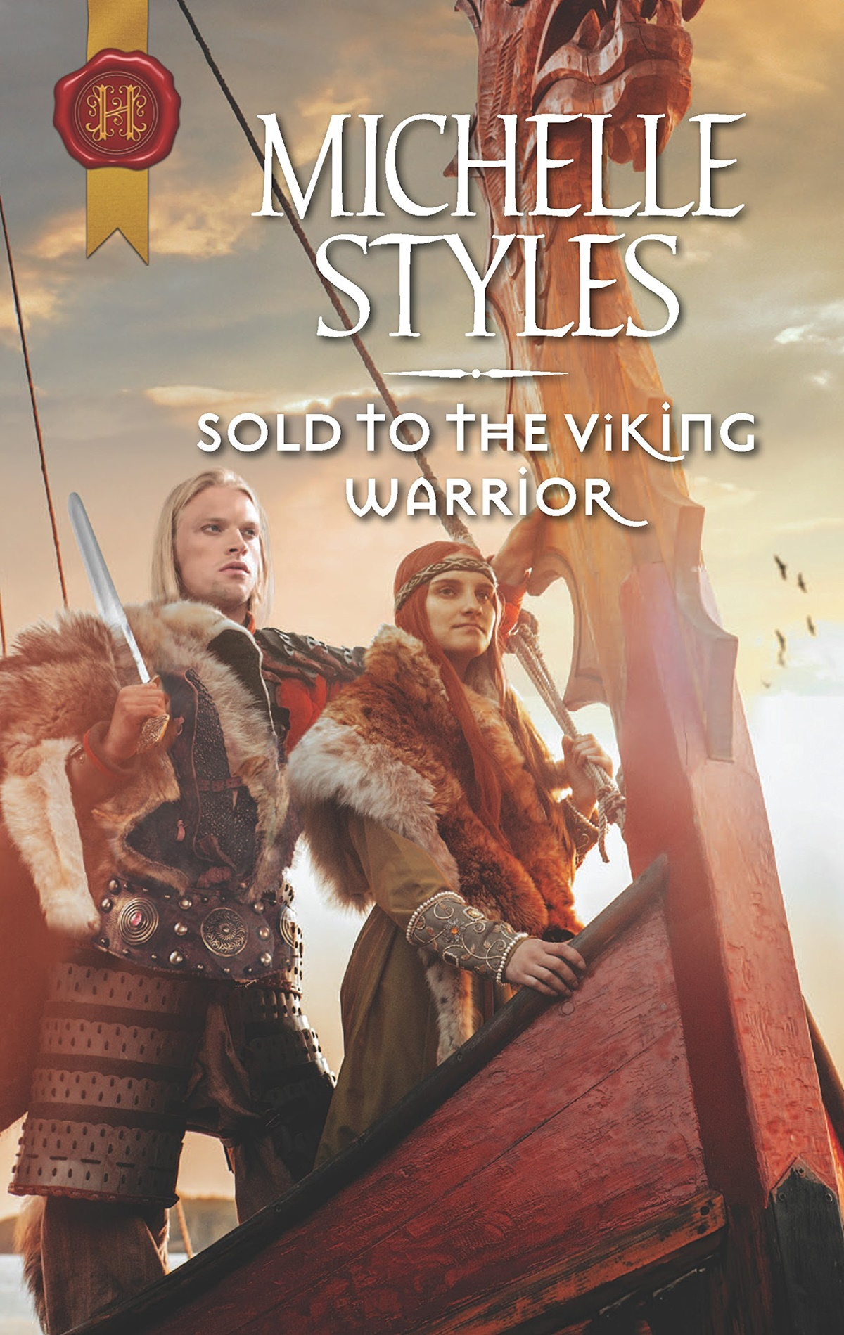 Viking Romance Novels, cover of Sold to the Viking Warrior by Michelle Styles, books