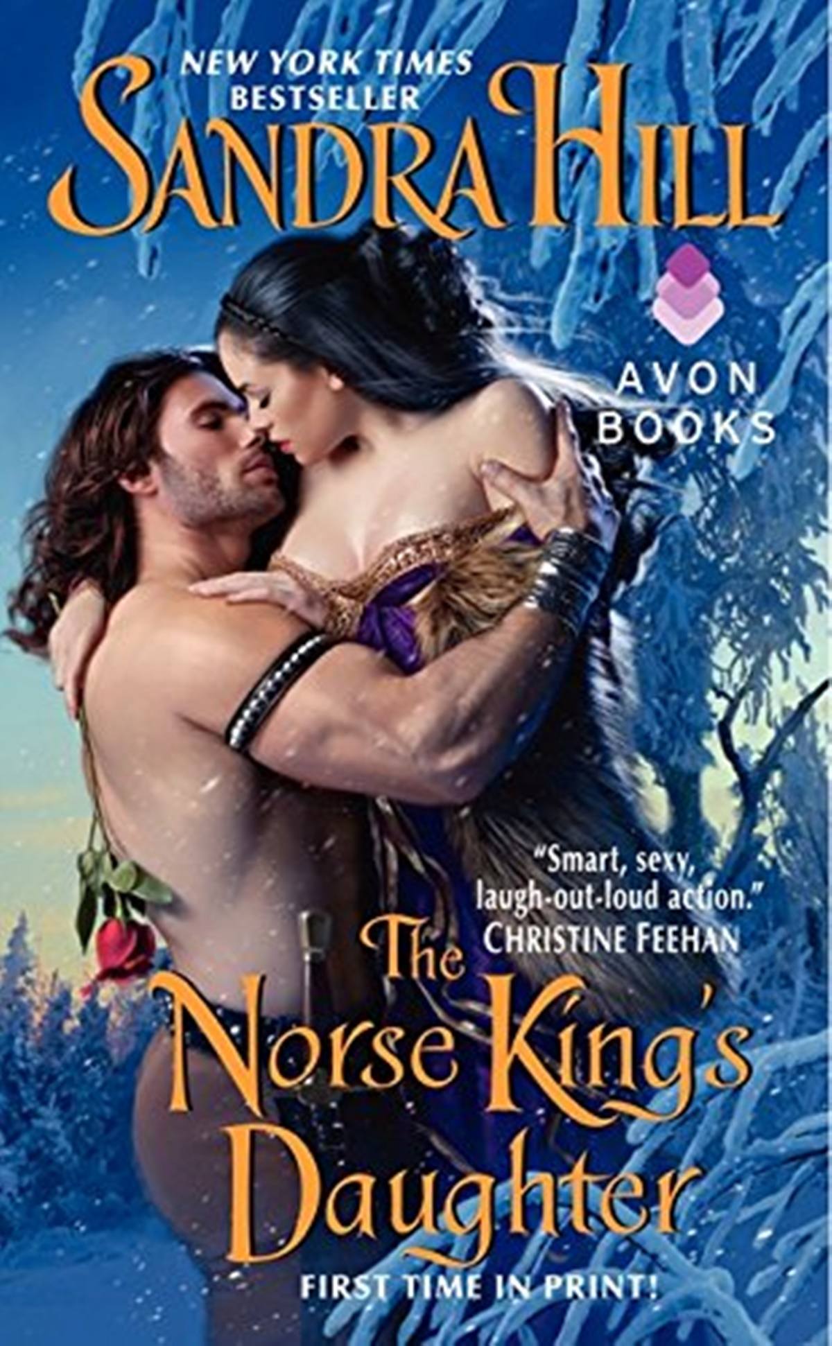 Viking Romance Novels, cover of The Norse King's Daughter by Sandra Hill, books
