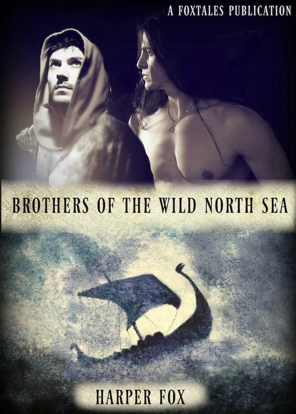 Viking Romance Novels, cover of Brothers of the Wild North Sea by Harper Fox, books