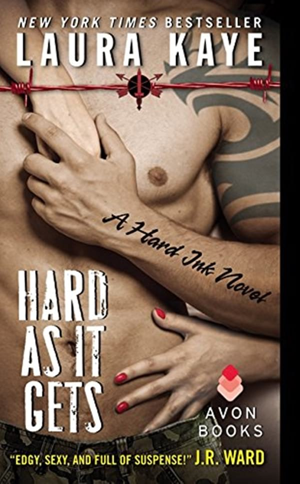 Military Romance Novels, book cover of As Hard as it Gets by Laura Kaye, books