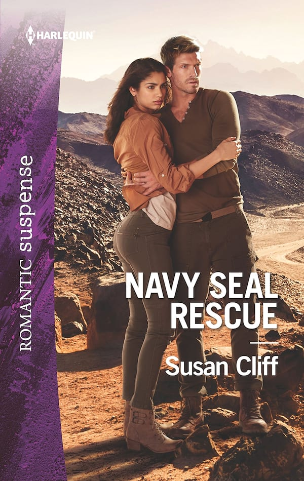Military Romance Novels, cover of Navy SEAL Rescue by Susan Cliff, books
