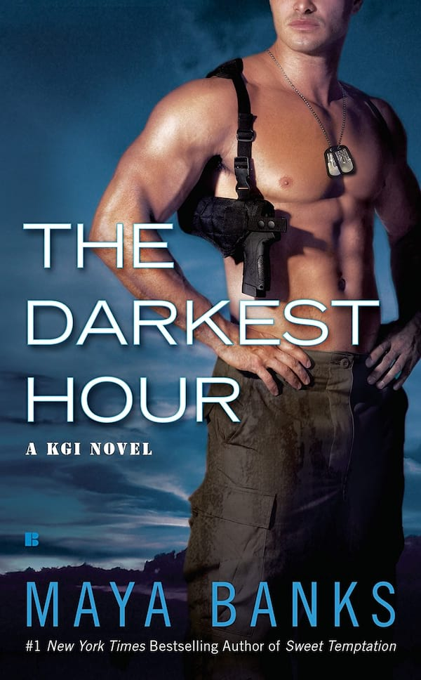 Military Romance Novels, book cover of The Darkest Hour by Maya Banks, books