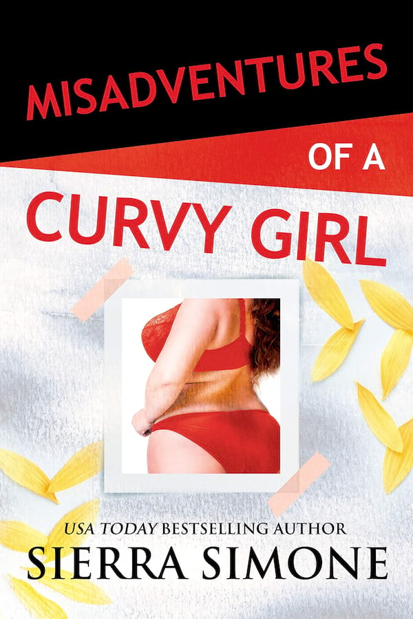 New Romance Audiobooks, book cover of Misadventures of a Curvy Girl by Sierra Simone, books