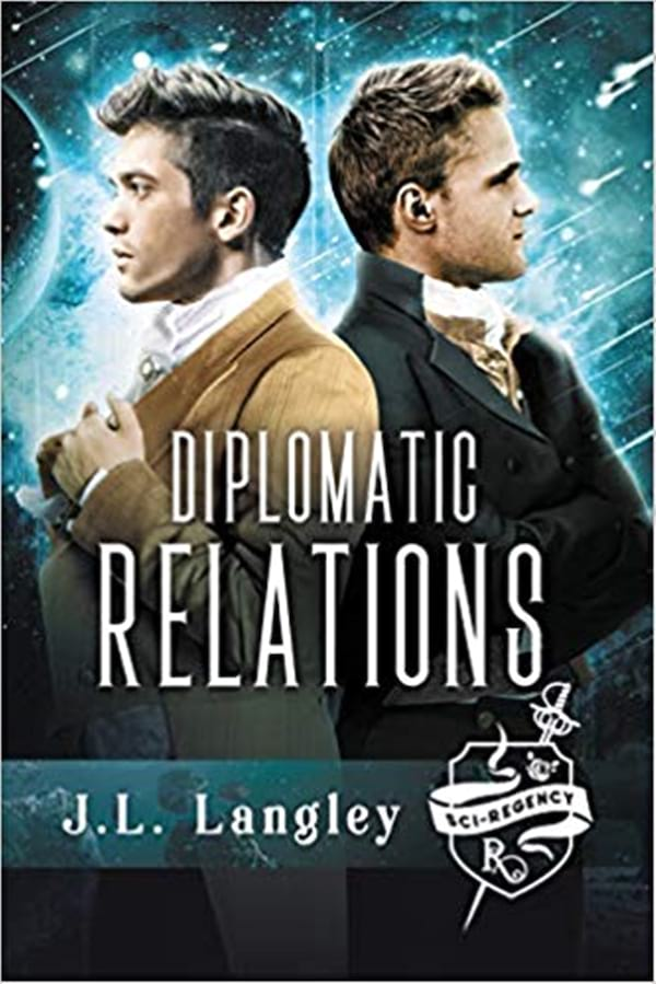 Science Fiction Romance Novels, book cover of Diplomatic Relations by J.L. Langley, books