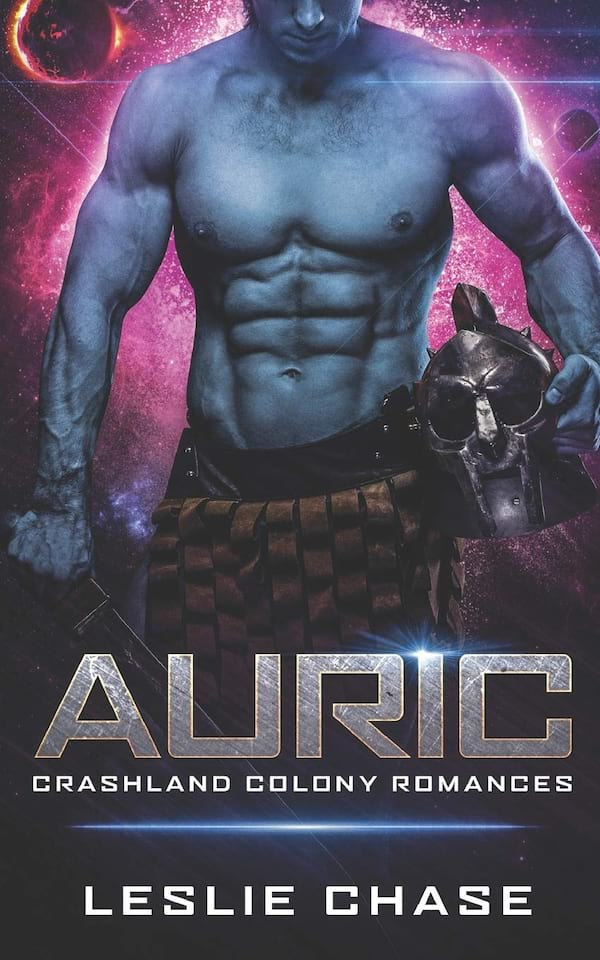 Science Fiction Romance Novels, book cover of Auric by Leslie Chase, books