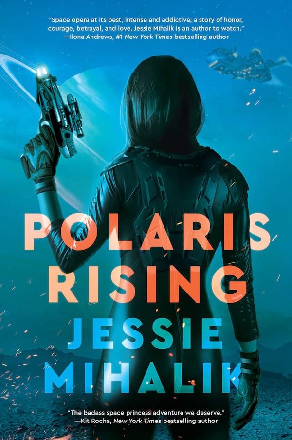 Science Fiction Romance Novels, book cover of Polaris Rising by Jessie Mihalik, books