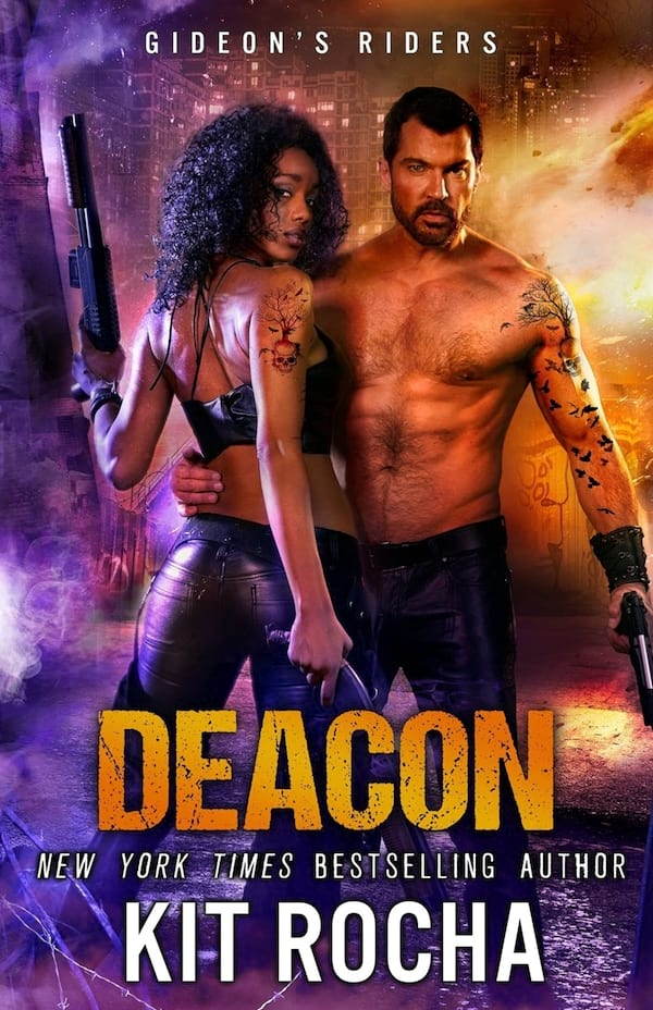 Science Fiction Romance Novels, book cover of Deacon by Kit Rocha, books
