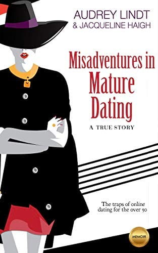 Misadventures in Mature Dating book cover from Amazon