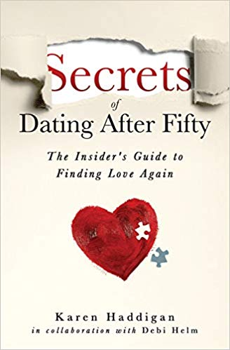 Secrets of Dating After Fifty: The Insider's Guide to Finding Love Again book cover from Amazon