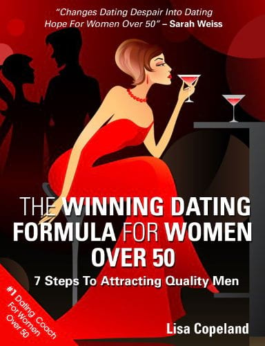The Winning Dating Formula For Women Over 50: 7 Steps To Attracting Quality Men book cover from Amazon