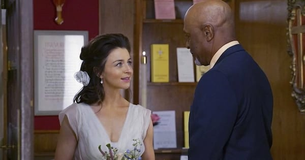 amelia shepherd and richard webber wedding day season 12 grey's anatomy