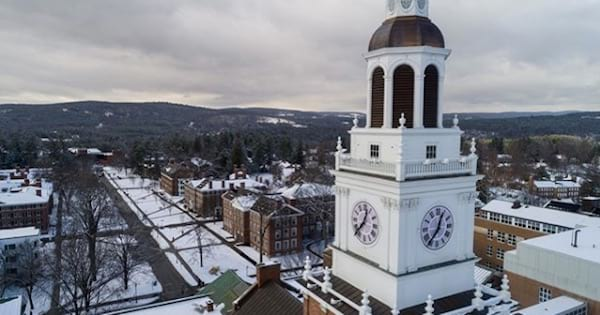 dartmouth college aerial view