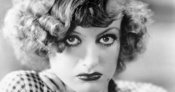 joan crawford black and white close up