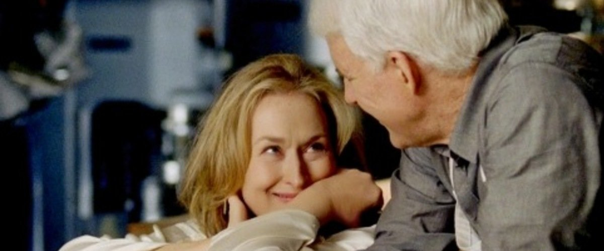 Meryl Streep and Steve Martin on a date in It's Complicated