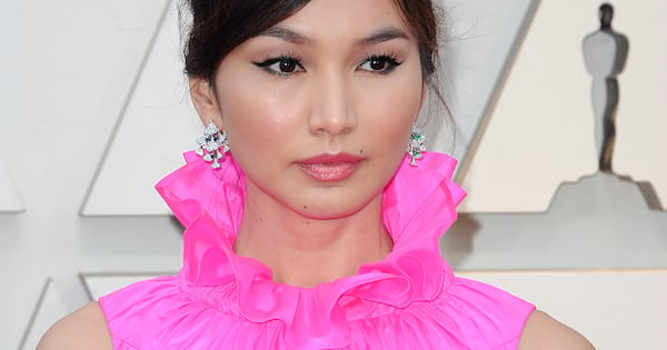 gemma chan bess of hardwick mary queen of scots role 2019, pink dress