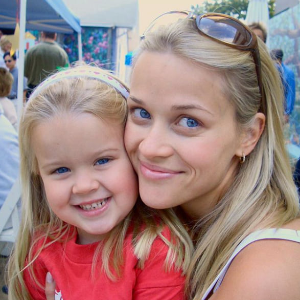 Reese Witherspoon then and now