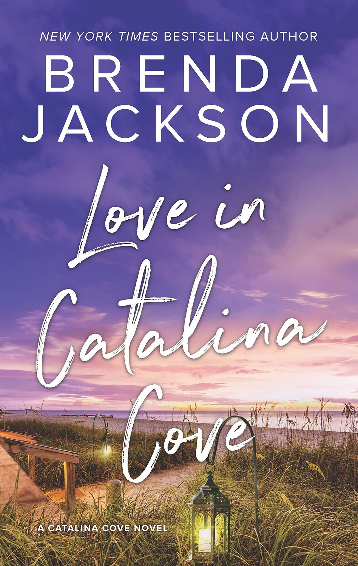 Summer Romance Reading List, cover of Love in Catalina Cover by Brenda Jackson, books