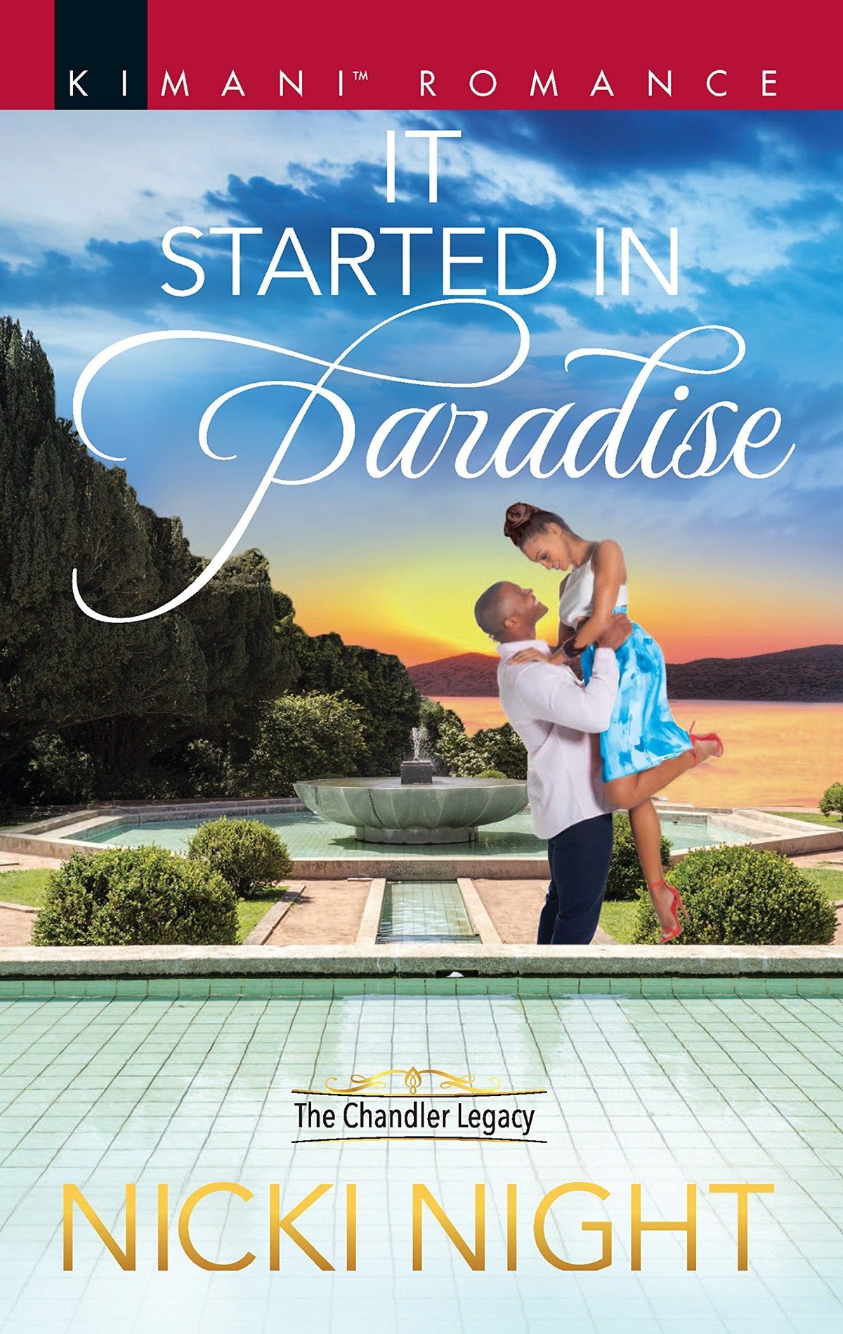 Summer Romance Reading List, cover of It Started In Paradise by Nicki Night, books