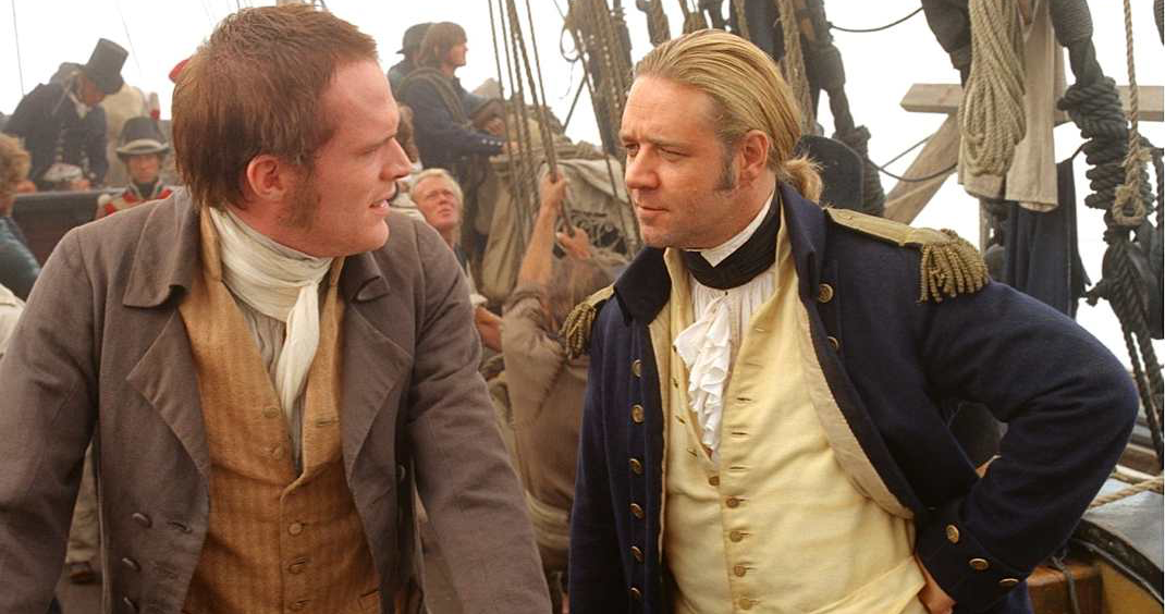 movies, master and commander: the far side of the world, 2003, Russell Crowe