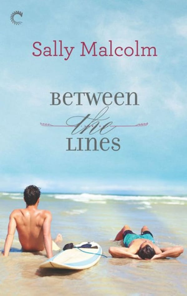 Summer Romance Reading List, cover of Reading Between the Lines by Sally Malcolm, books