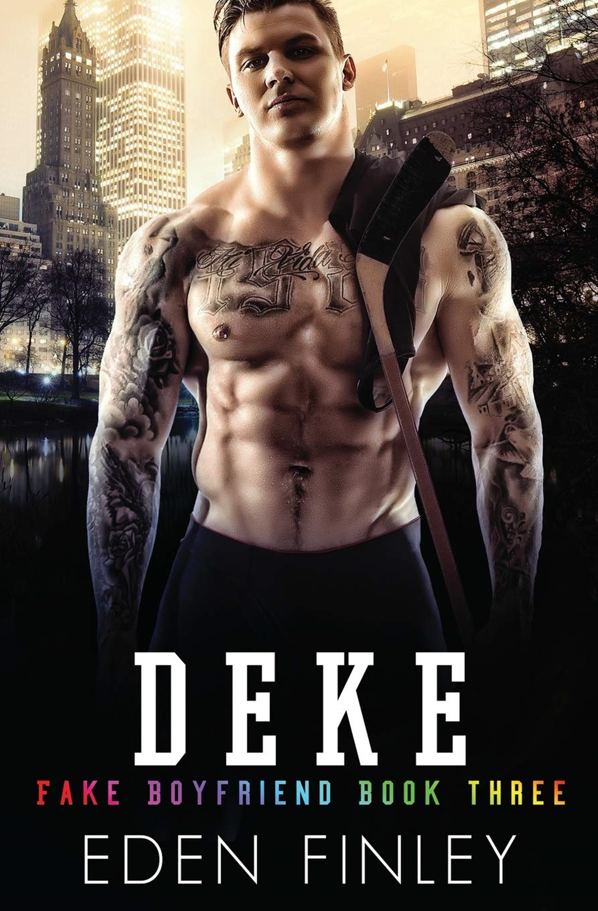 Sports Romance Novels, cover of Deke by Eden Finley, books