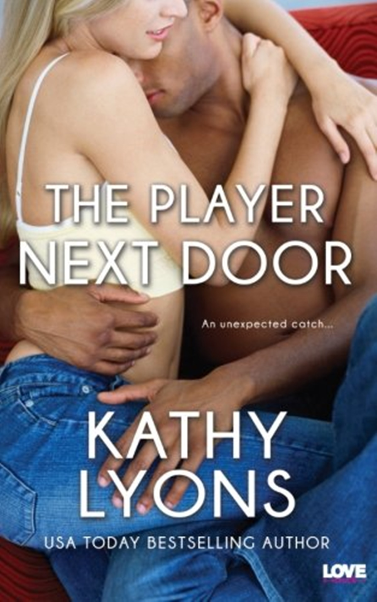 Sports Romance Novels, cover of The Player Next Door by Kathy Lyons, books