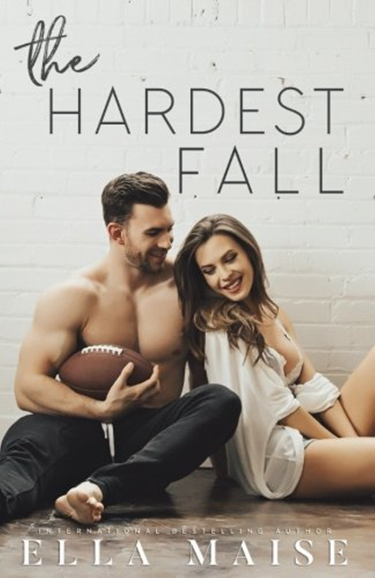 Sports Romance Novels, cover of The Hardest Fall by Ella Maise, books