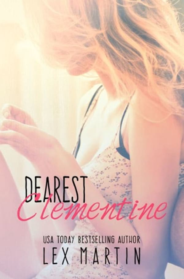 Romance Novels About Writers, cover of Dearest Clementine by Lex Martin, books