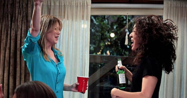cristina and meredith dancing it out grey's anatomy