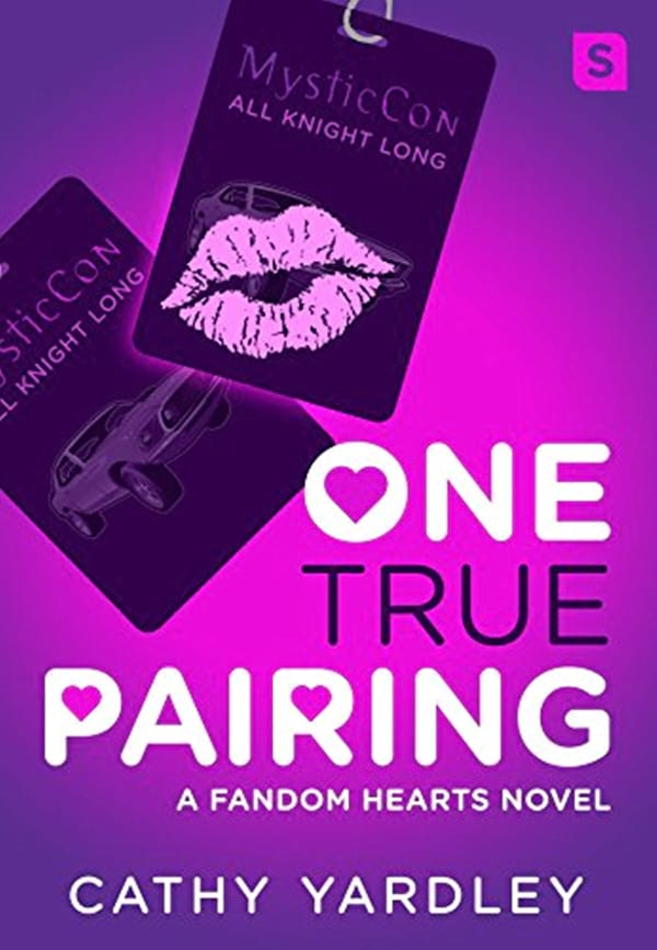 Fake Relationship Romance Novels, cover of One True Pairing by Cathy Yardley, books