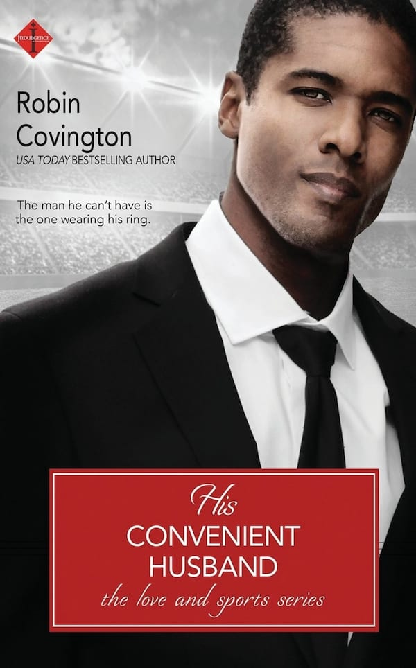 Fake Relationship Romance Novels, cover of His Convenient Husband by Robin Covington, books