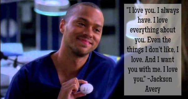 Jackson Avery relationship quote