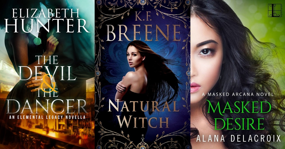 Paranormal Romance Novels, three book covers of paranormal romance novels, books