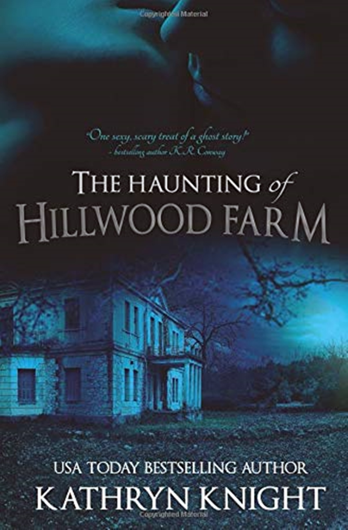 Paranormal Romance Novels, cover of The Haunting of Hillwood Farm by Kathryn Knight, books
