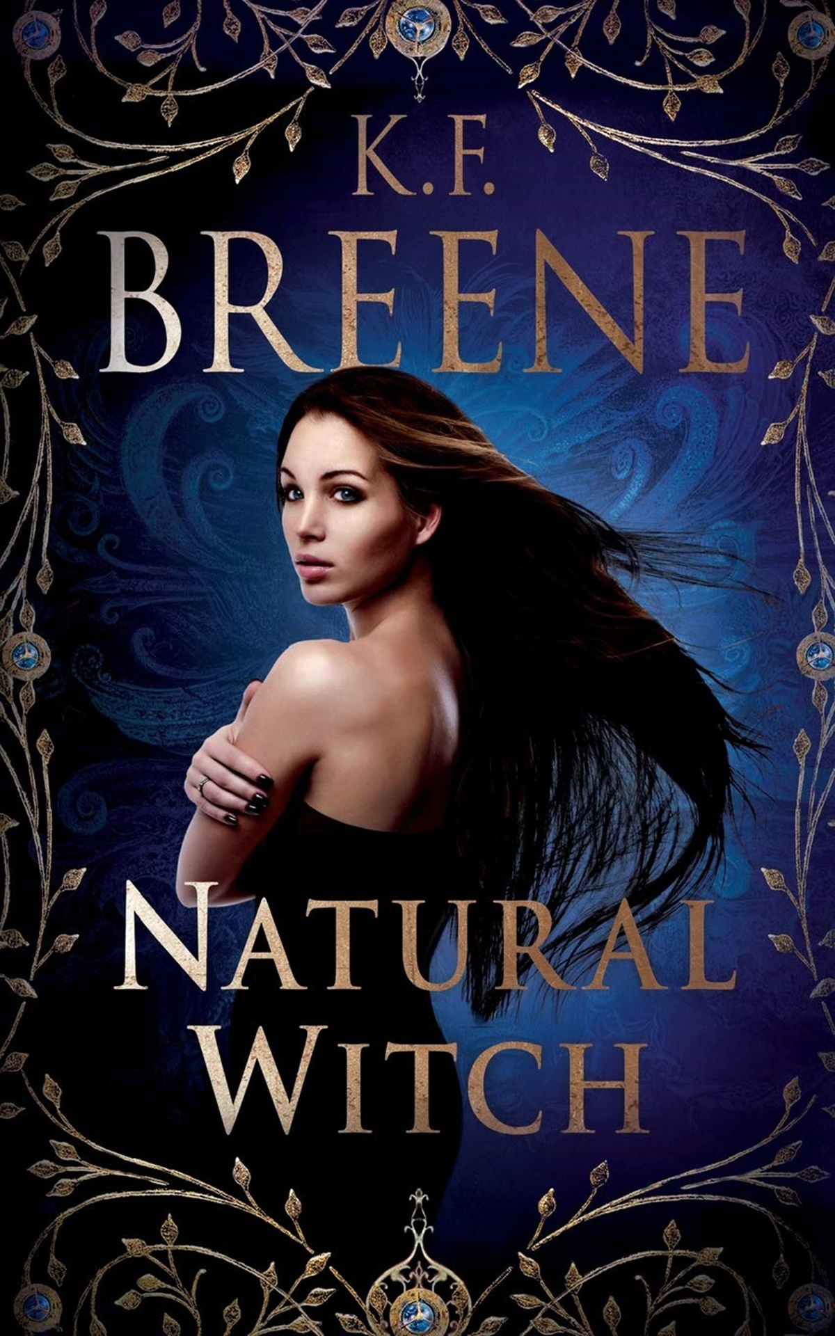 Paranormal Romance Novels, cover of Natural Witch by K.F. Breene, books
