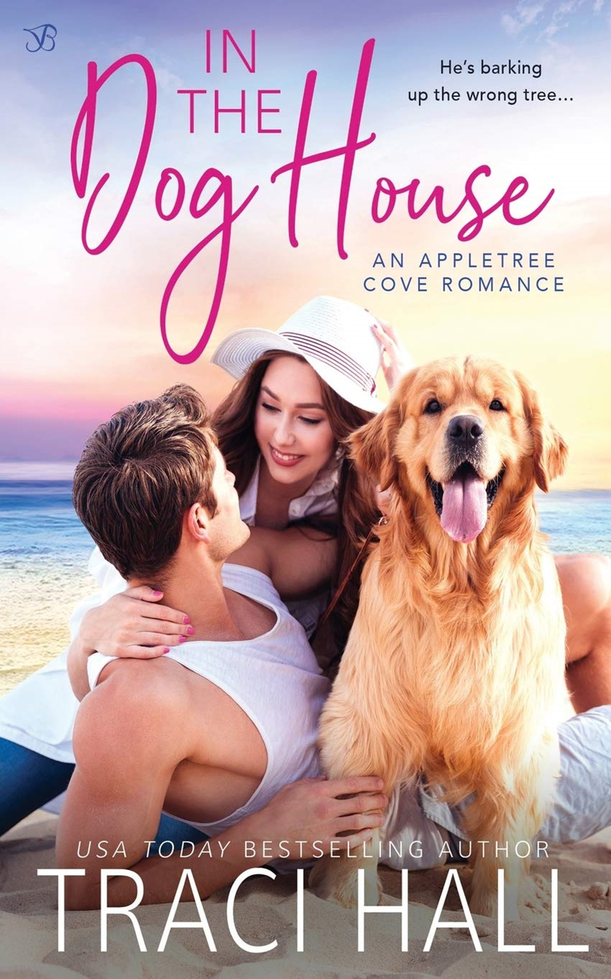 Dog Romance Novels, cover of In the Dog House by Traci Hall, books