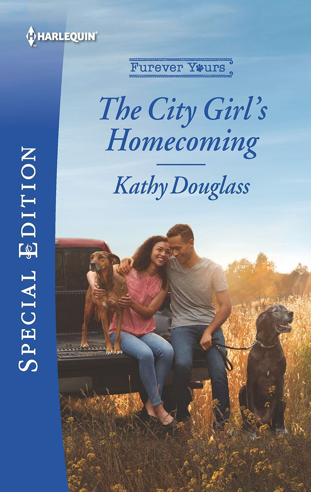Dog Romance Novels, cover of The Girl's Homecoming by Kathy Douglass, books