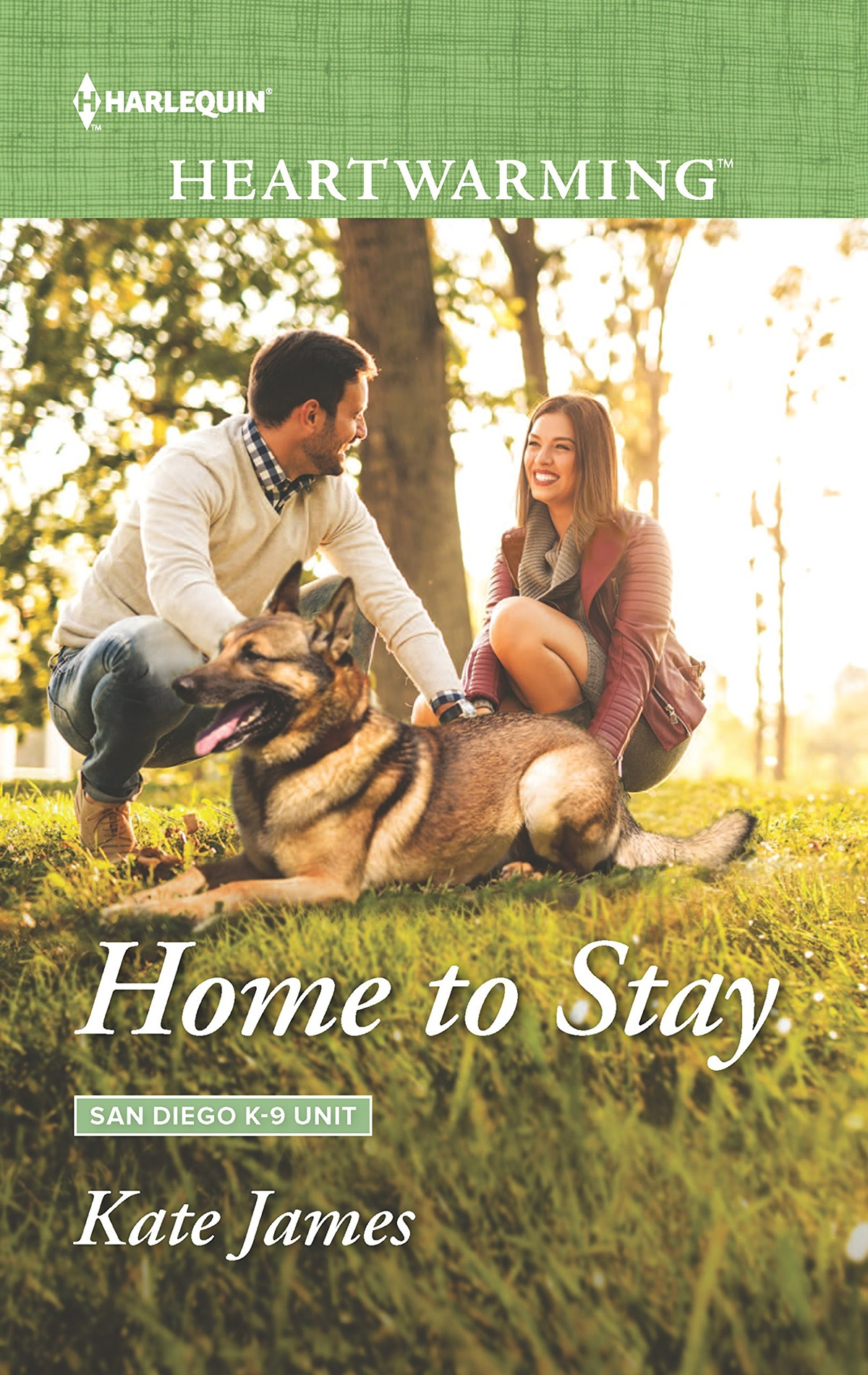 Dog Romance Novels, cover of Home to Stay by Kate James, books